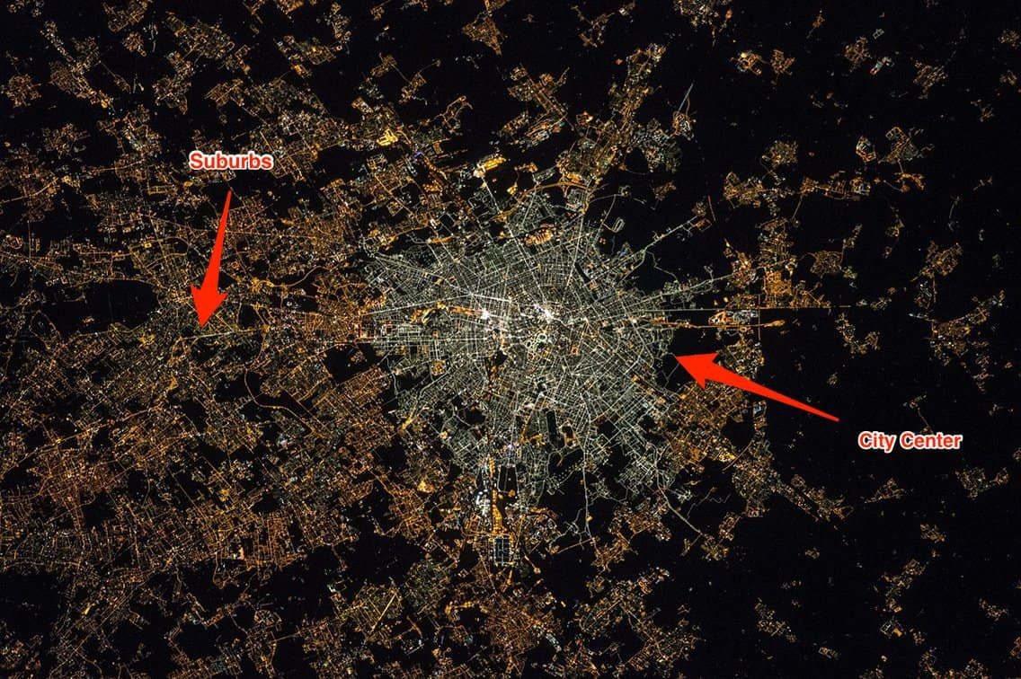LED growth in Milan