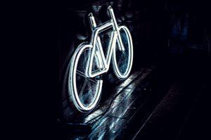 Neon Bike Tail